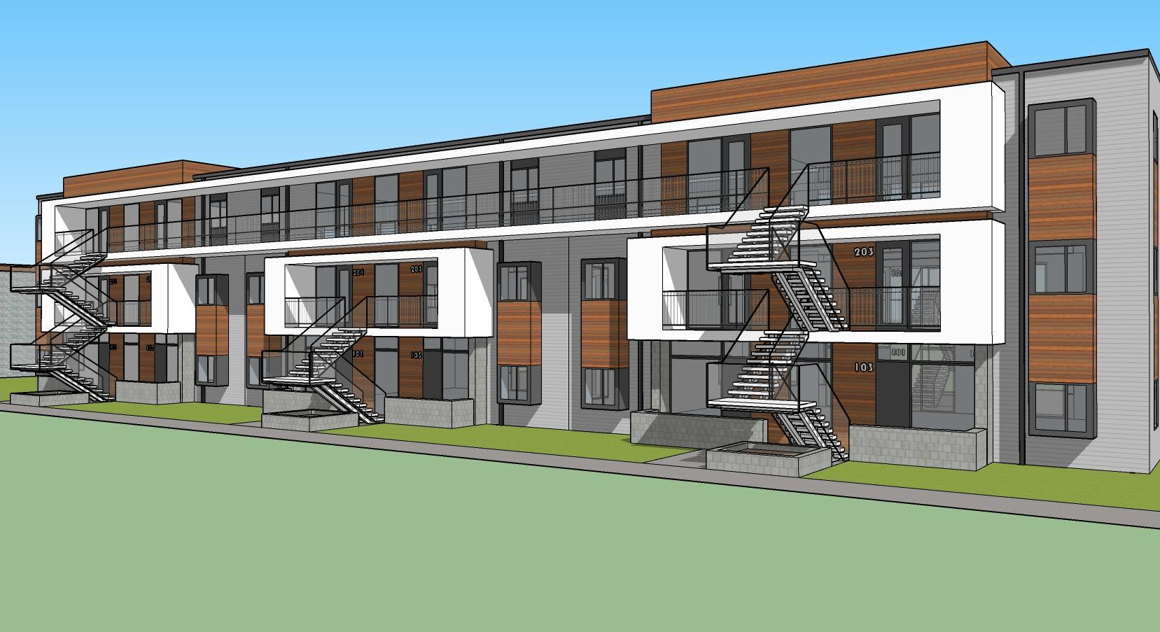 Architects rendering of multi-family property ideal when investing in real estate